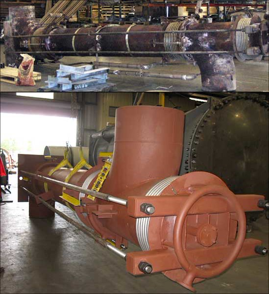 Pressure Balanced Elbow Expansion Joint Refurbished (#101368 - 10/12/2010)