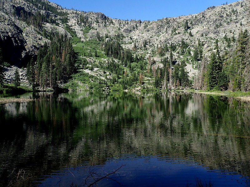 Big Blue Lake Russian Wilderness California