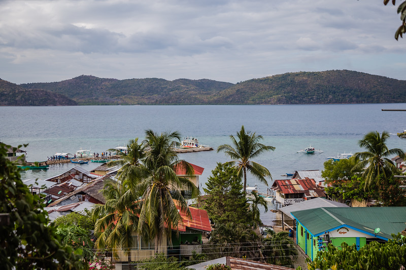 View from Culion Island