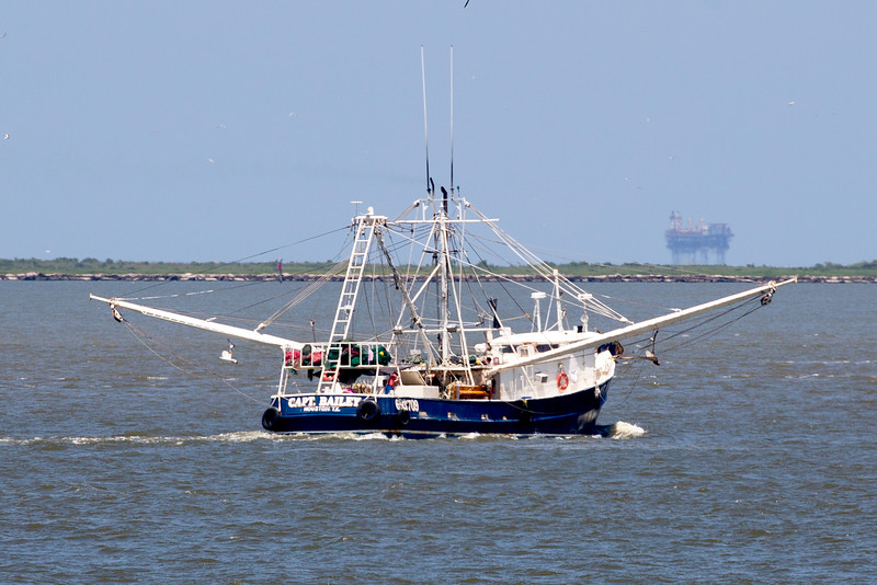 The shrimp boat Capt. Bailey