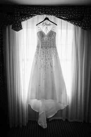 Sarah & James B/W Wedding Photos
