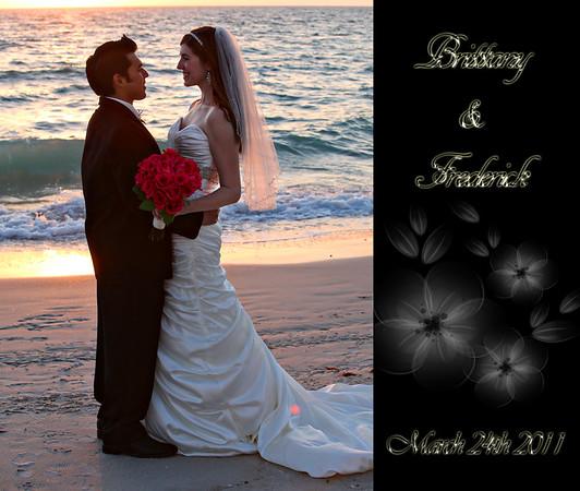 Brittany & Frederick Wedding Album 2 (13x11)