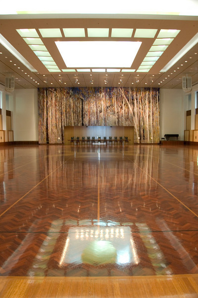 Great Hall, Parliment Building - Canberra, Australia