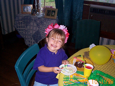 Ann Marie's Birthday Party, 1999