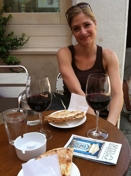 First day in Venice - the red wine marathon has begun.