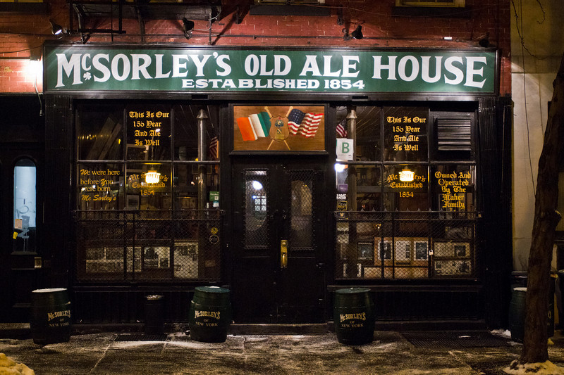 McSorley's Old Ale House: Oldest Irish Tavern in NYC