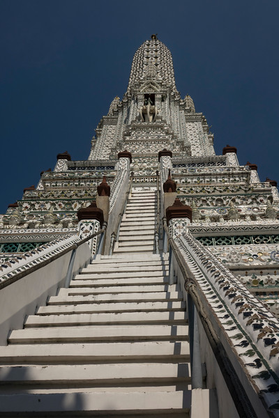 "Towering Wat Arun - ""Temple of Dawn"""
