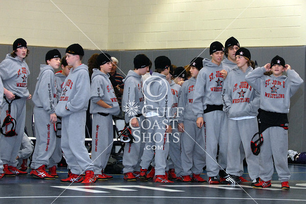 2007-12-07 Wrestling Middle School St. John's @ St. Francis
