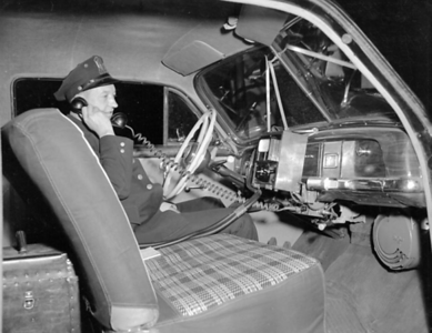 IPD Radar equipped vehicle May 7, 1952