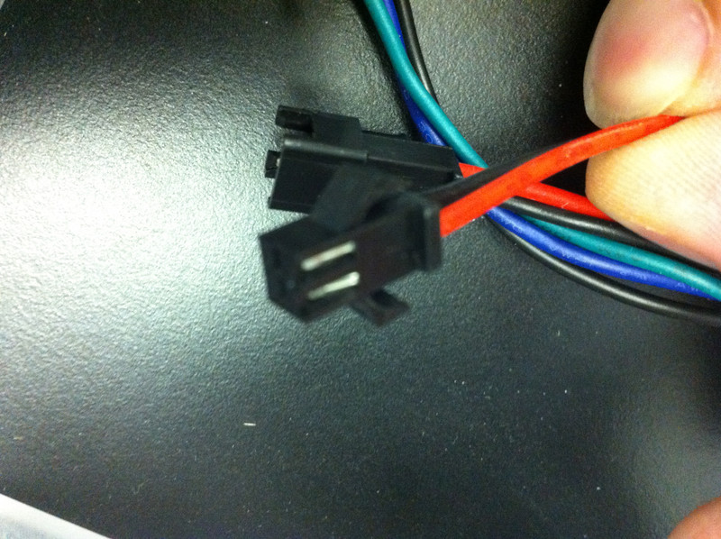 LED Pixel Power connector
