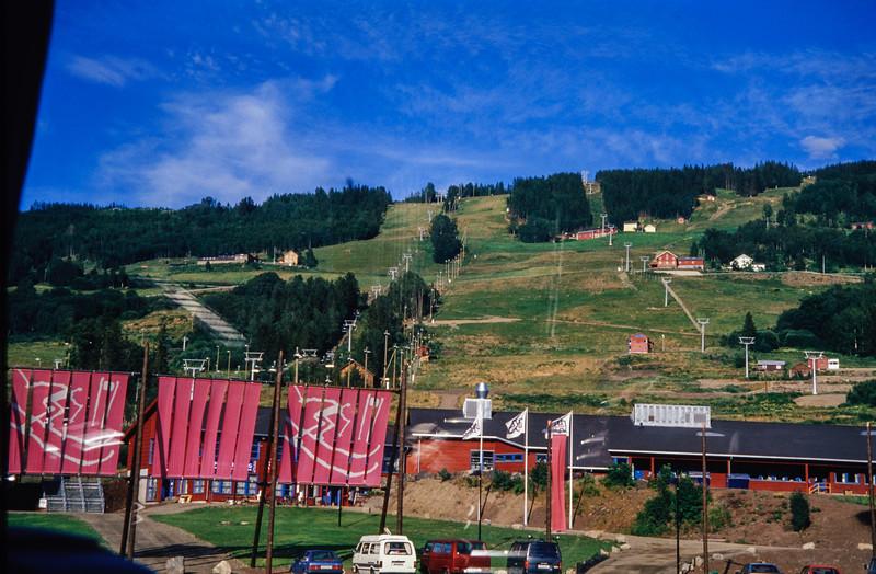 Alpin Strecke