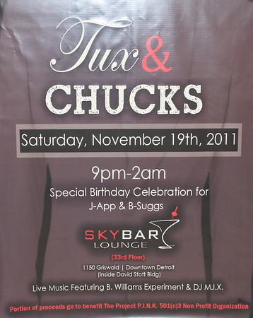Tux & Chucks Byron's 30th 11/19/2011 Skybar Club
