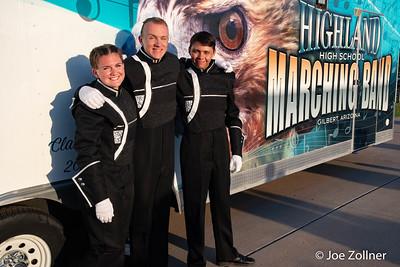 2018 Marching Band Football Games