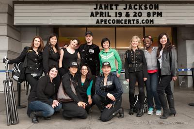 Bay Area Flash Mob at the Bill Graham Civic Auditorium - 4/19/2011