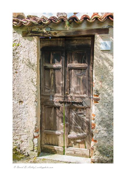 Door, Bellagio, Italy