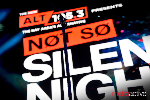 Live 105's Not So Silent Night at the Tank