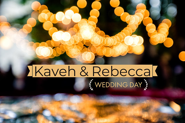 Kaveh + Rebecca // Wedding