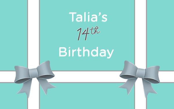 Talia's 14th Birthday