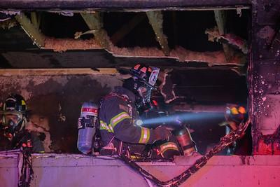 Cedar Street House Fire