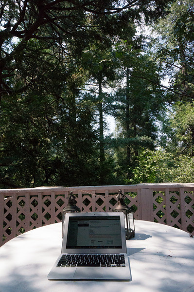 My office for the month of July