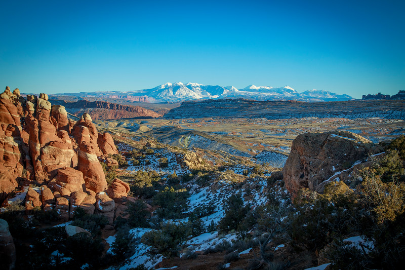 Firery Furnace in Arches NP