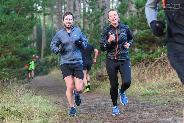 Newborough Forest Park Run - New Years Day