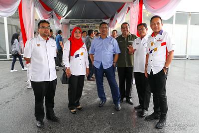 WALKABOUT YAB PERDANA MENTERI MALAYSIA KE KUD @ KPLB 2019