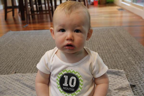 Alex 10 Months Old