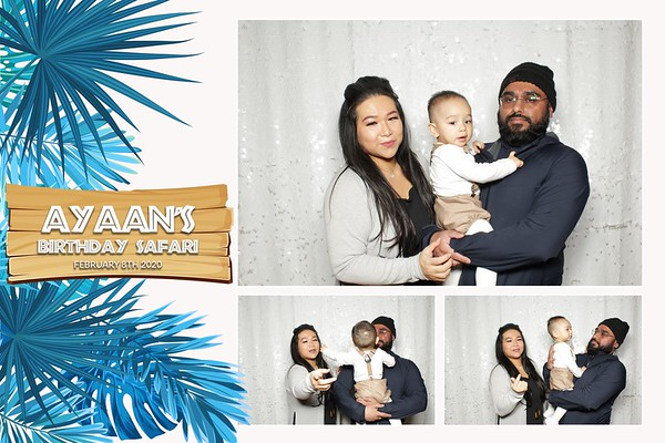 Ayaan's 1st Birthday Party
