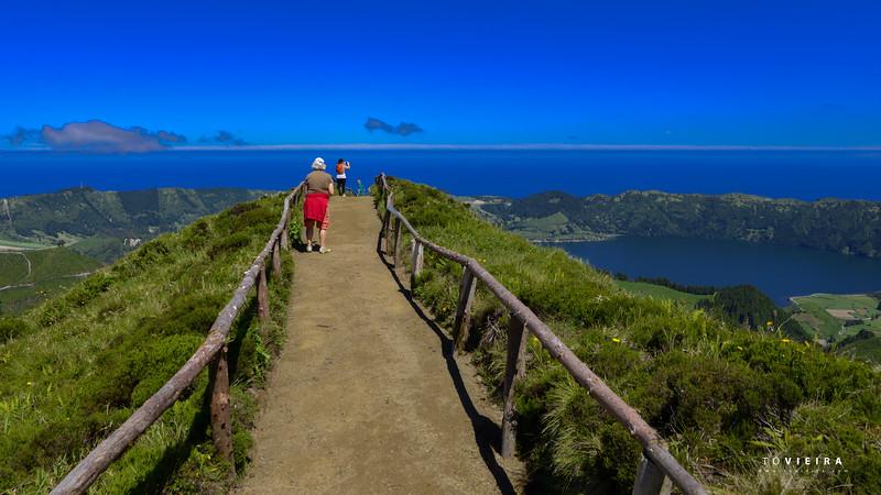 Miradouro da grota do inferno. S  Miguel, Açores