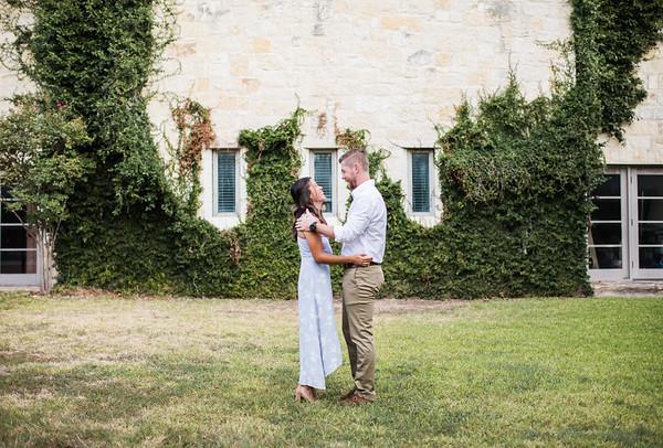 Adrienne & Bradley Riverbend Engagement