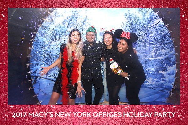 Macy's Holiday Party (Snow Globe Booth)