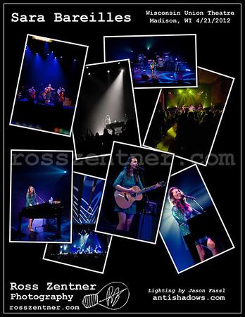 4-21-12 Sara Bareilles at the Union Theatre