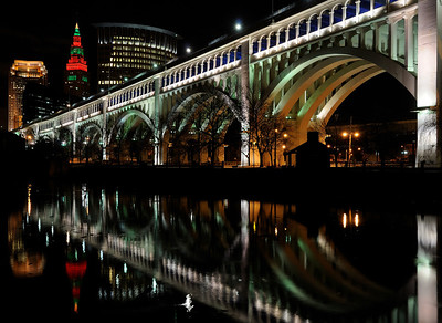 Downtown Cleveland Holiday Lights 2009