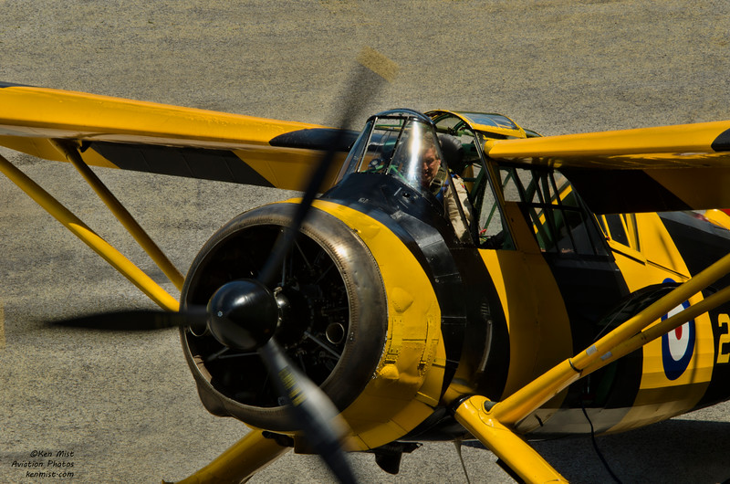 Canadian Warplane Heritage Museum Lysander at 2015 SkyFest