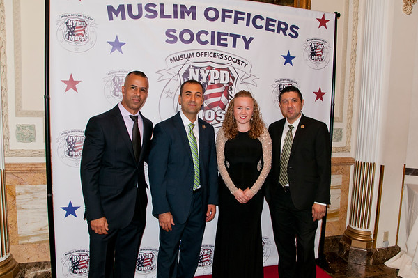 Pictures Of NYPD Muslim Officers Society Event 08/17/17