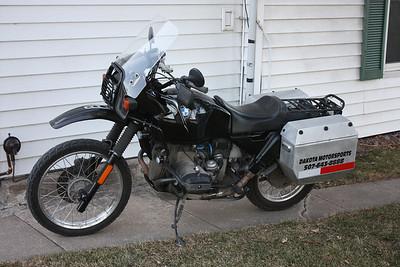 My 1992 R100GS