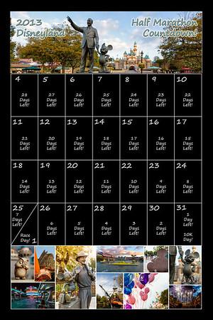 Disneyland Calendar