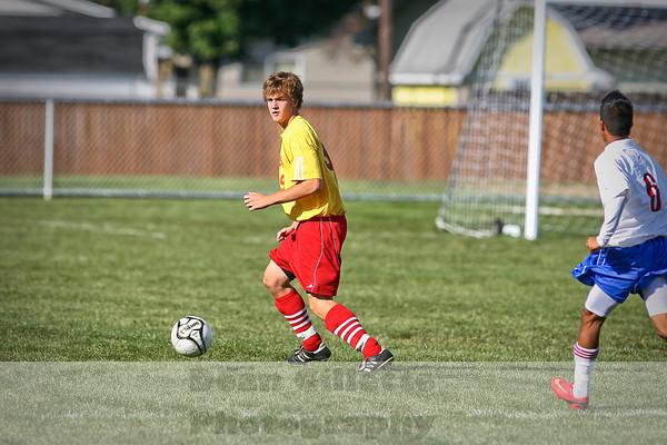 Boys Varsity Soccer v W Noble