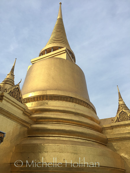 Phra Siratana Chedi, The Grand Royal Palace, Bangkok, Thailand