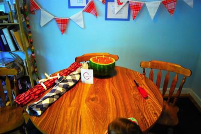 Catherine's Fifth Birthday