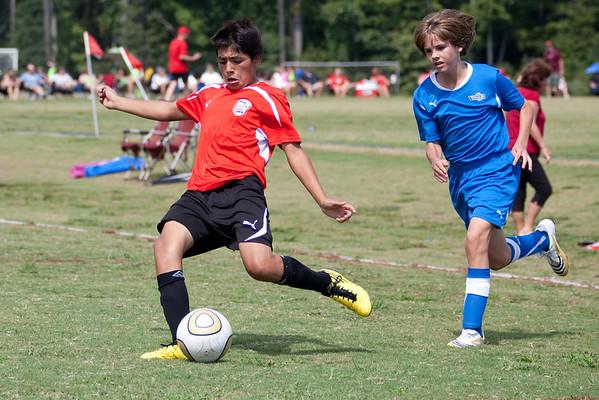 U-14 Fall Season 2010/ Tanner's Team