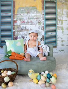 Greyson's 1st Easter