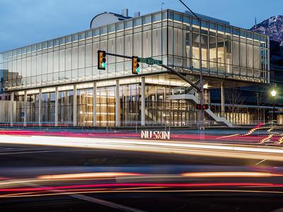 2015_02_14 Nu Skin Pavilion Building