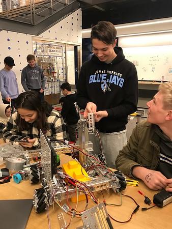 11.17.19 Robotics Meet FIRST Tech Challenge #1- Cliffside Park HS