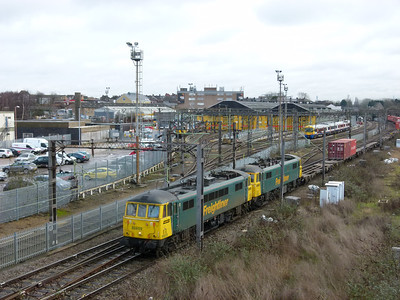 Willesden Jnc & The West Midlands (01-02-2013)