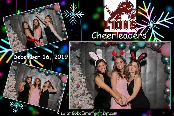 20191216 Brownwood Lions Cheerleaders Banquet