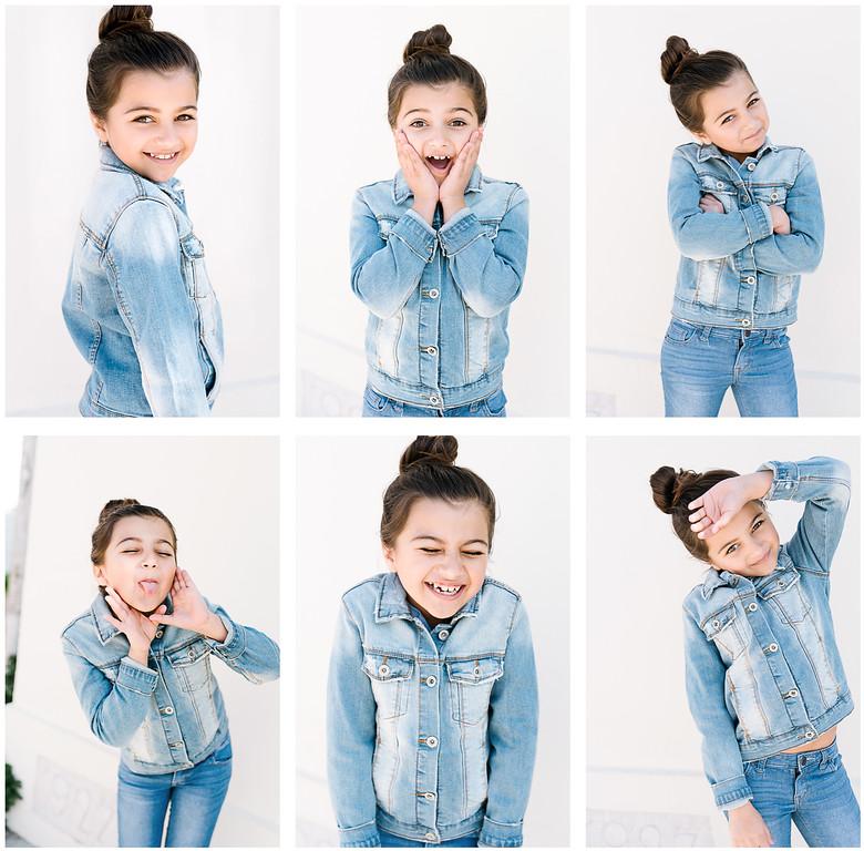 Zara, JE Kids, model headshots for portfolio by Tenley Clark Photography. Fremont, CA