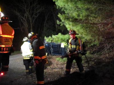 Schuylkill County - E. Union Twp. - MVA w/ entrapment - 4/4/10