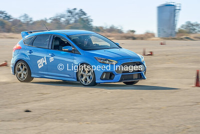 214 Blue Ford Focus RS